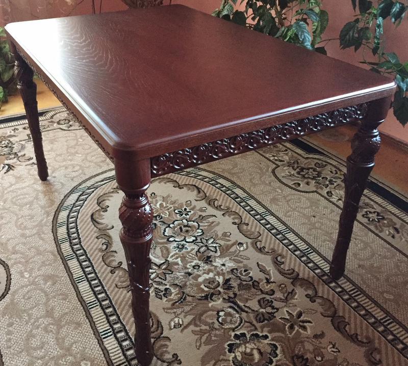 Різьблений стіл / Резной стол - Фото 2