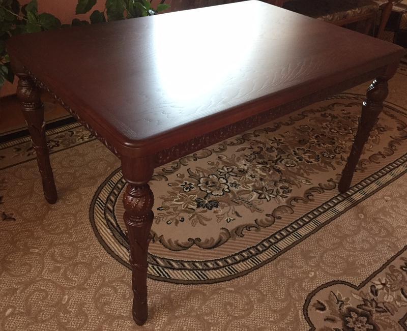 Різьблений стіл / Резной стол - Фото 3
