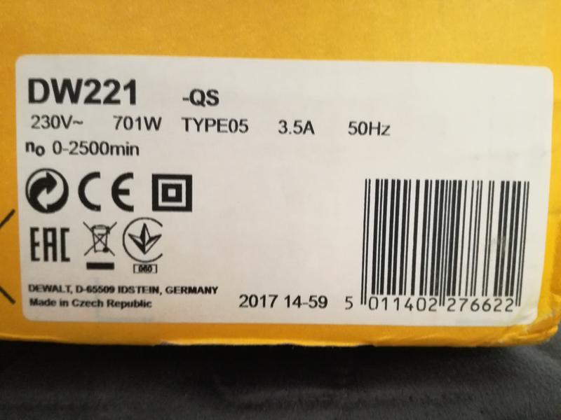 Дрель DeWalt DW221 із швидкозажимним патроном - Фото 3