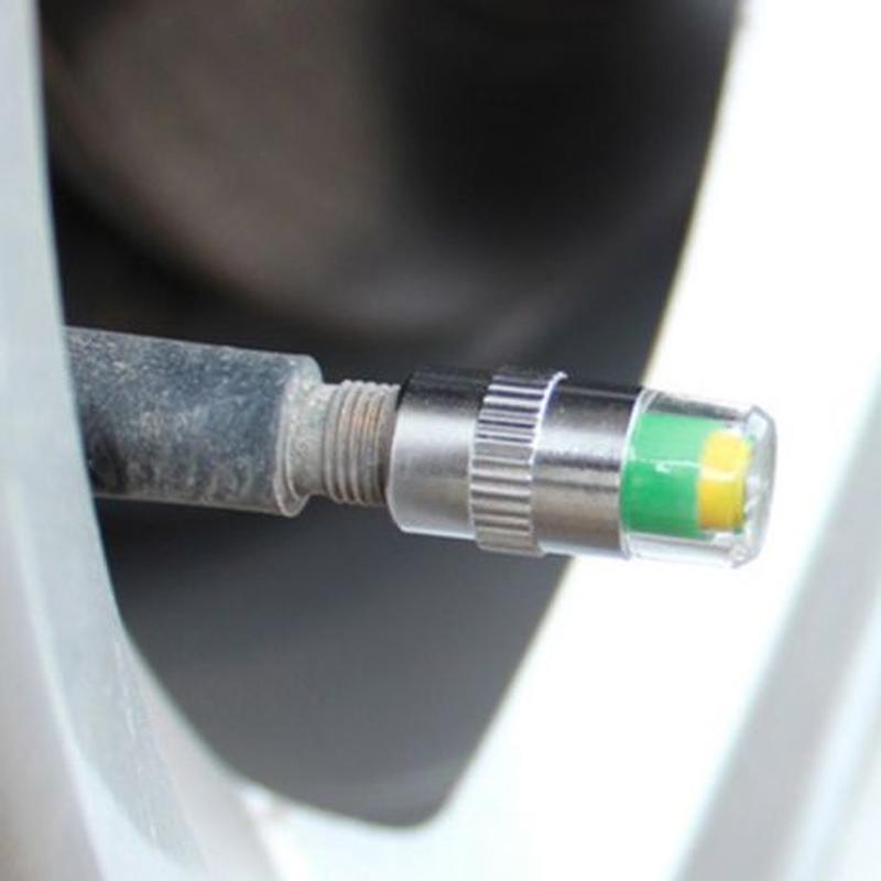 Колпачки на ниппель с индикатором давления в шинах 2.4 bar - Фото 5