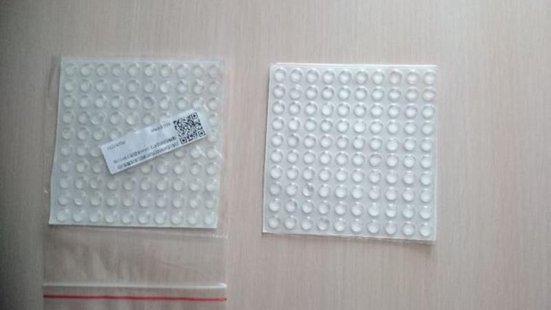 Мебельный Демпфер, Отбойник силиконовый самоклеющийся 100 шт