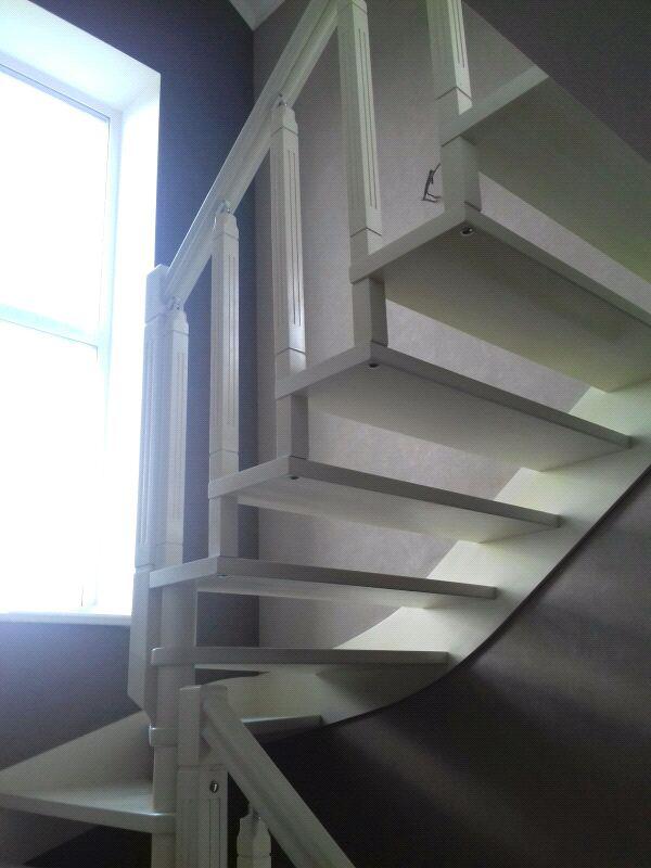 Монтаж деревянной лестницы, изготовление ,реставрация .Опыт работ - Фото 4
