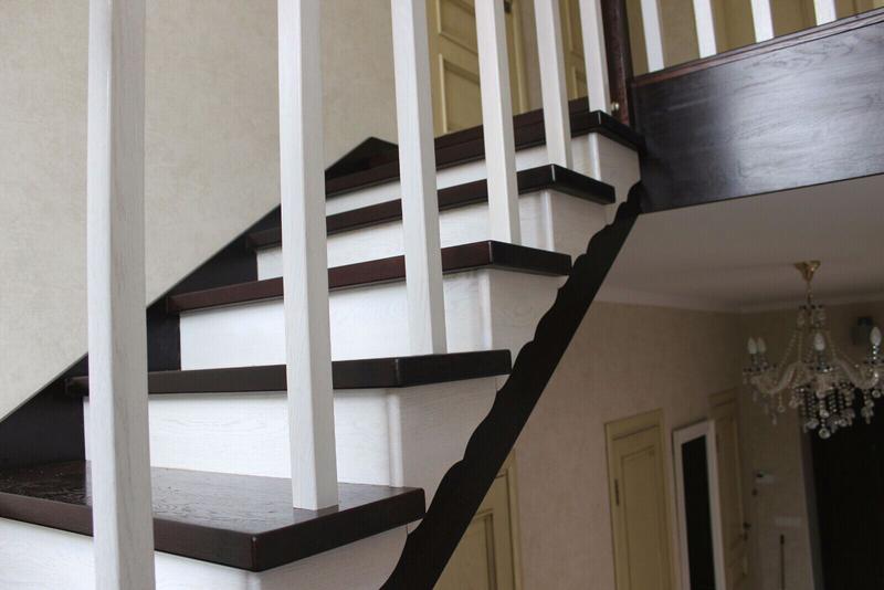 Монтаж деревянной лестницы, изготовление ,реставрация .Опыт работ