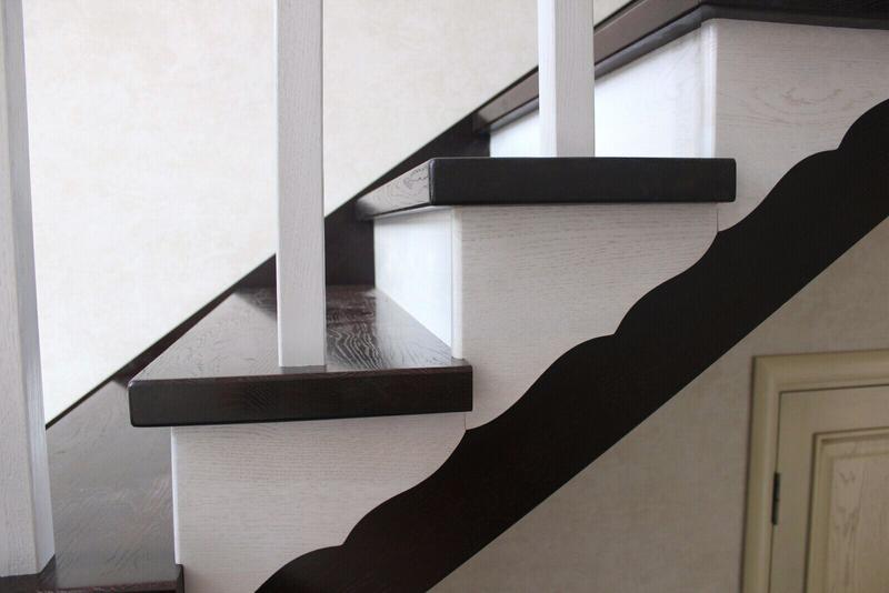 Монтаж деревянной лестницы, изготовление ,реставрация .Опыт работ - Фото 6