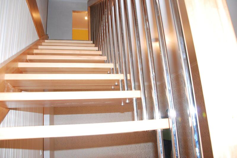 Монтаж деревянной лестницы, изготовление ,реставрация .Опыт работ - Фото 10