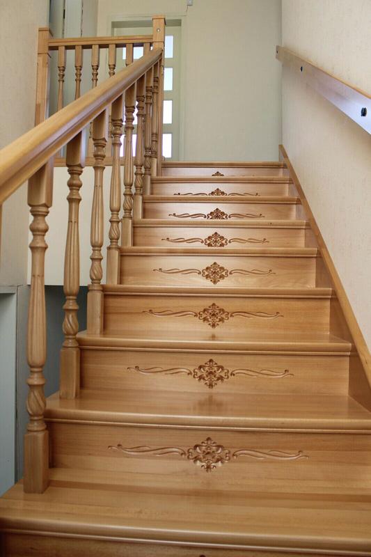 Монтаж деревянной лестницы, изготовление ,реставрация .Опыт работ - Фото 11