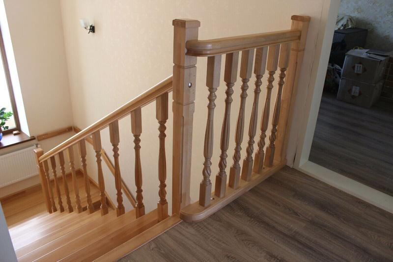 Монтаж деревянной лестницы, изготовление ,реставрация .Опыт работ - Фото 12