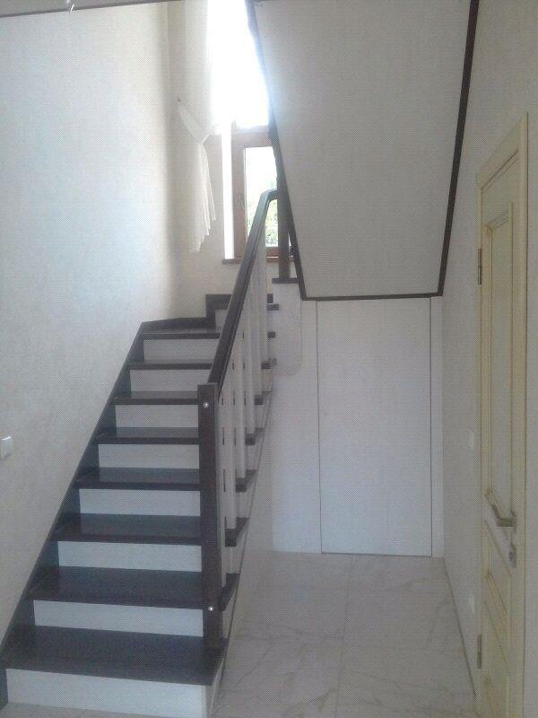 Монтаж деревянной лестницы, изготовление ,реставрация .Опыт работ - Фото 16
