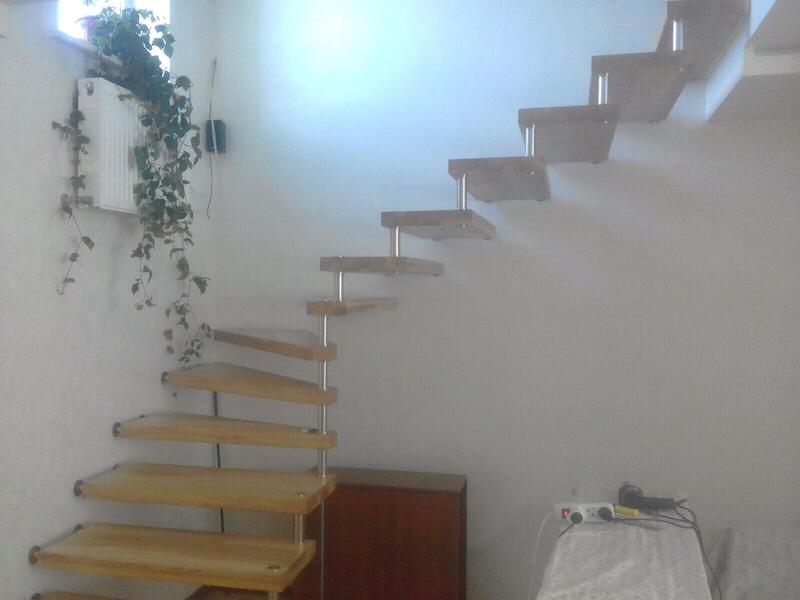 Монтаж деревянной лестницы, изготовление ,реставрация .Опыт работ - Фото 17