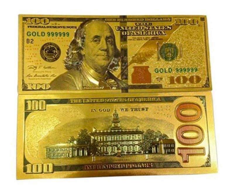 Сувенирная банкнота 100 долларов