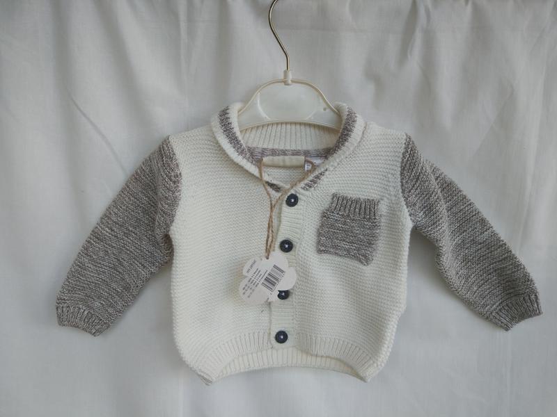 Lupilu Кофта для новорожденнных 50-56 (0-2 месяца)