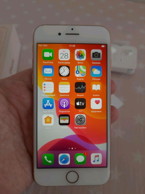 Продам Apple iPhone 8, Gold, 64GB (MQ6J2RM/A) - Фото 3