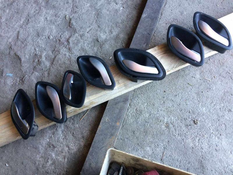 Ручка двери внутренняя б/у Рено Лагуна 2, Renault Laguna 2,Espace