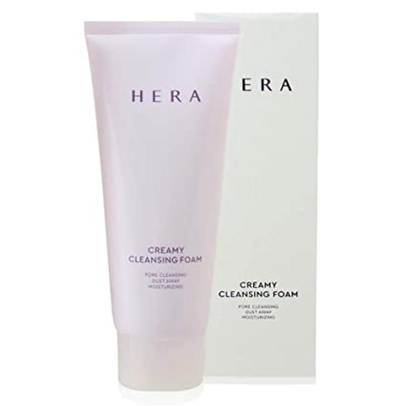 Кремовая пенка для умывания hera creamy cleansing foam, 50 мл,...
