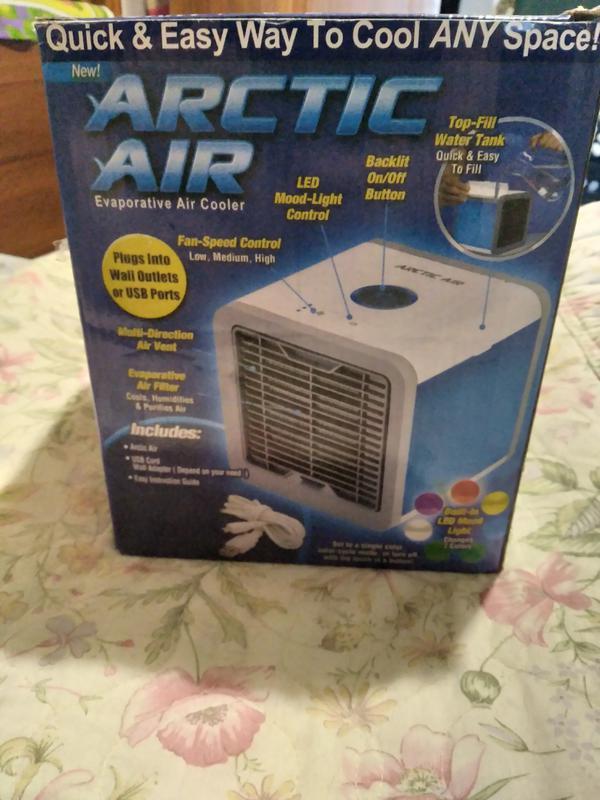 Охладитель и увлажнитель воздуха ARCTIC AIR