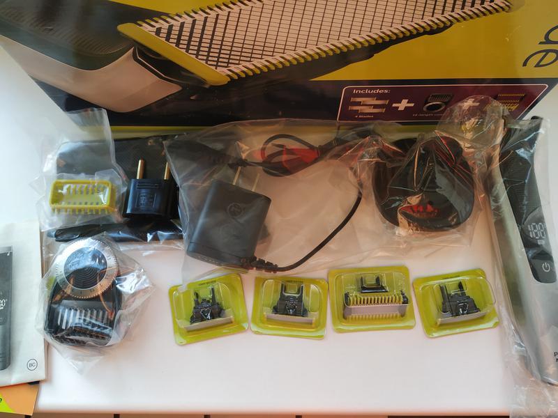 Бритва Philips Oneblade QP6620(QP6520) Face&Body Pro (+ 4 лезвия) - Фото 5