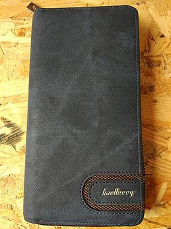 Элегантный клатч baellerry jeans ( baellerry denim ) черный - Фото 2