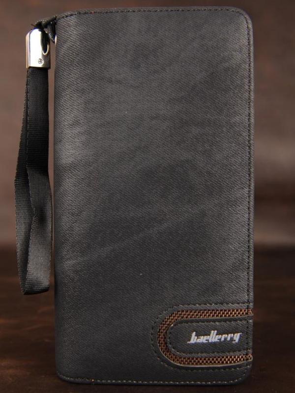 Элегантный клатч baellerry jeans ( baellerry denim ) черный - Фото 3