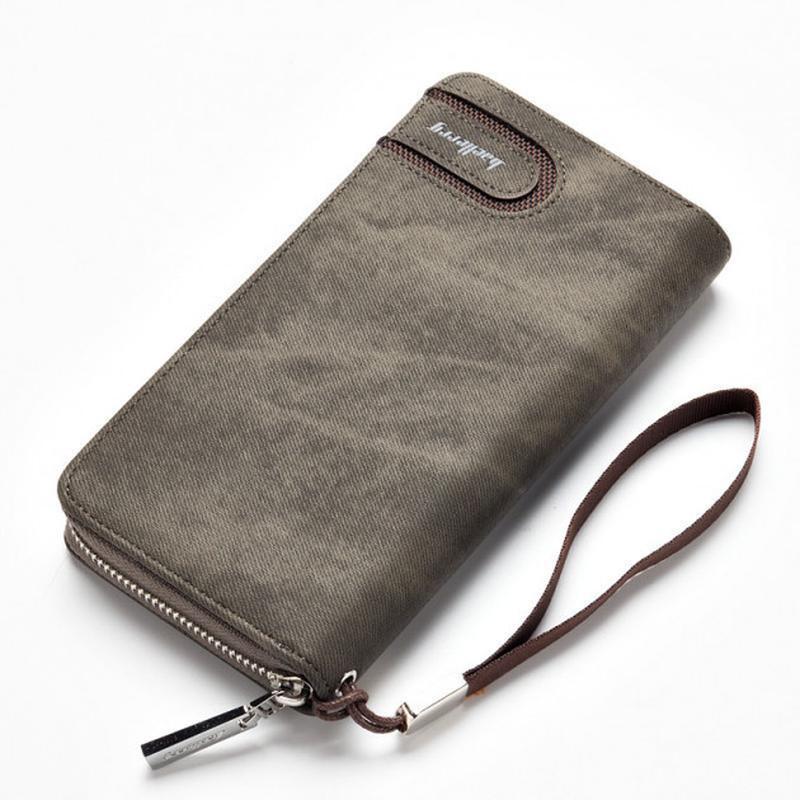 Элегантный клатч baellerry jeans ( baellerry denim ) серый