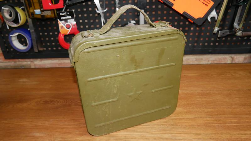 Ящик для патронов пулеметный ящик