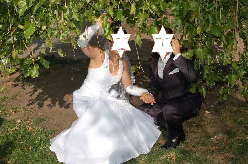 Плаття весільне Розмір регулюється 46-48 Біле Ідеальний - Фото 3