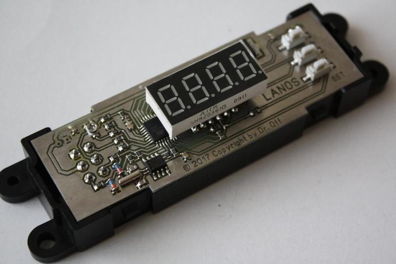 Часы, вольтметр, два термометра - Chevrolet Lacetti, Lanos, Sens - Фото 4