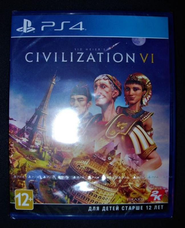 Sid Meier's Civilization VI. Новый Диск PS4, русский, оригинал