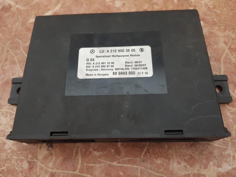 Мерседес модуль A2129003806 W246 W212