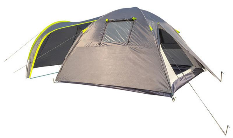 Палатка четырехместная GreenCamp 1009-2 - Фото 3