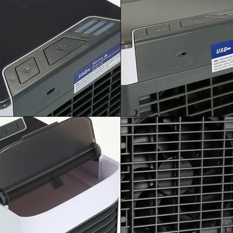 Мобильный кондиционер портативный 4в1 увлажнитель воздуха вент... - Фото 2