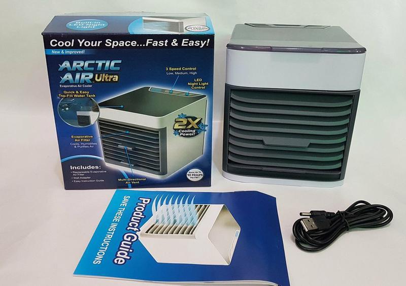 Мобильный кондиционер портативный 4в1 увлажнитель воздуха вент... - Фото 4