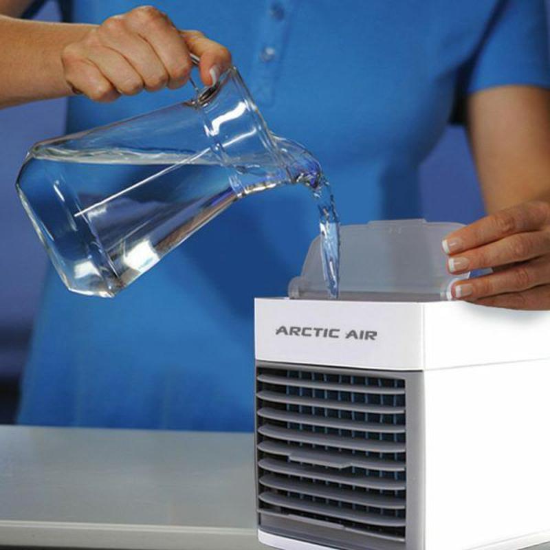 Мобильный кондиционер портативный 4в1 увлажнитель воздуха вент... - Фото 5