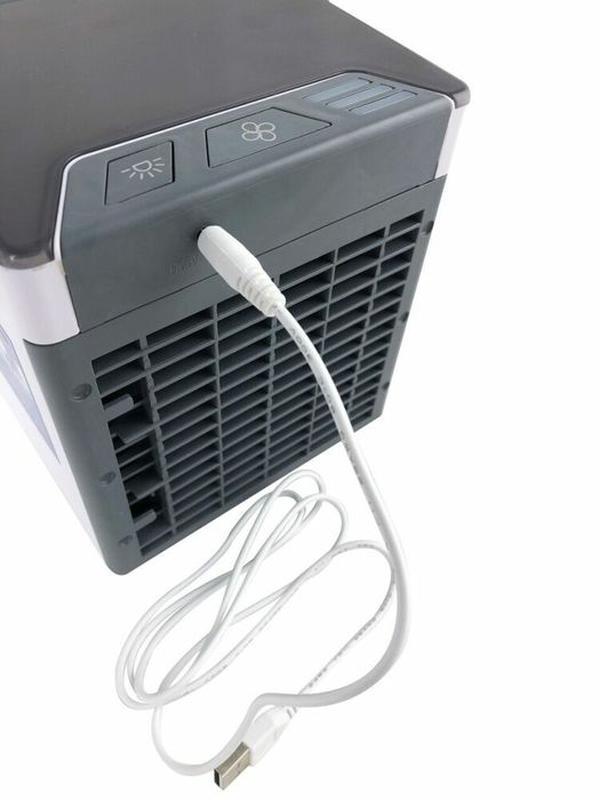 Мобильный кондиционер портативный 4в1 увлажнитель воздуха вент... - Фото 8