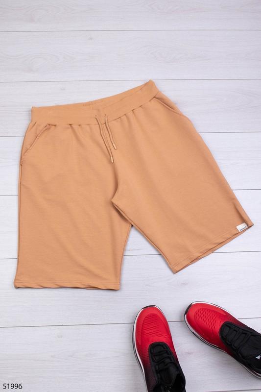 Мужские трикотажные шорты - Фото 2
