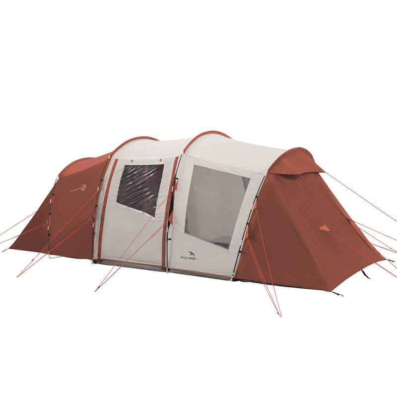 Палатка кемпинговая шестиместная Easy Camp Huntsville Twin 600 - Фото 7