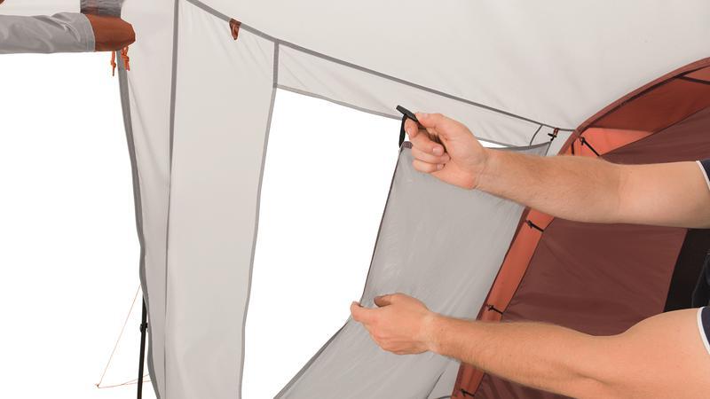 Палатка кемпинговая шестиместная Easy Camp Huntsville Twin 600 - Фото 6