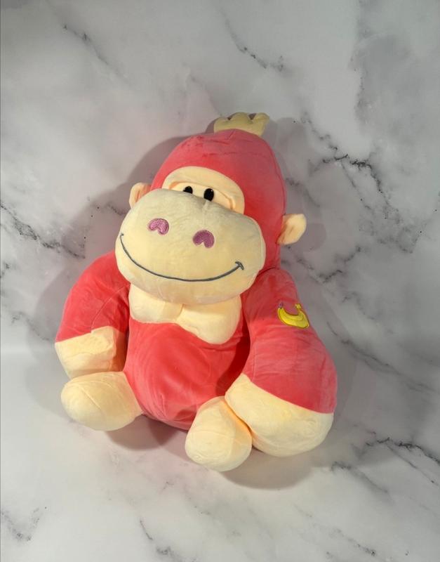 Обезьяна, игрушка, подушка, плед, 3 в 1. подарок ребенку игруш...