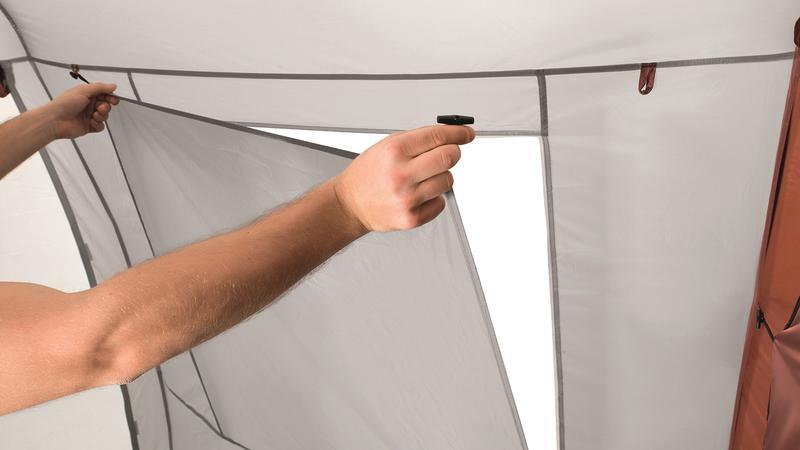 Палатка кемпинговая восьмиместная Easy Camp Huntsville Twin 800 - Фото 4