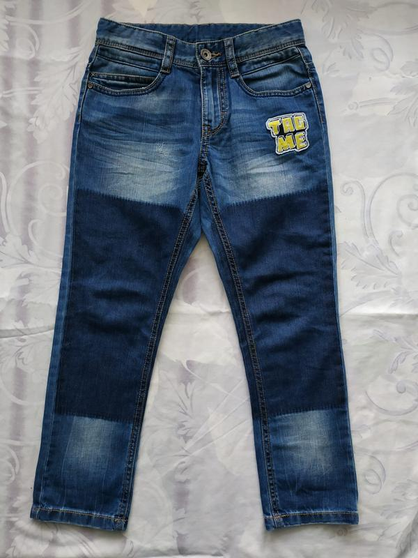 Крутые джинсы benetton австрия 6-7 лет рост 120 см