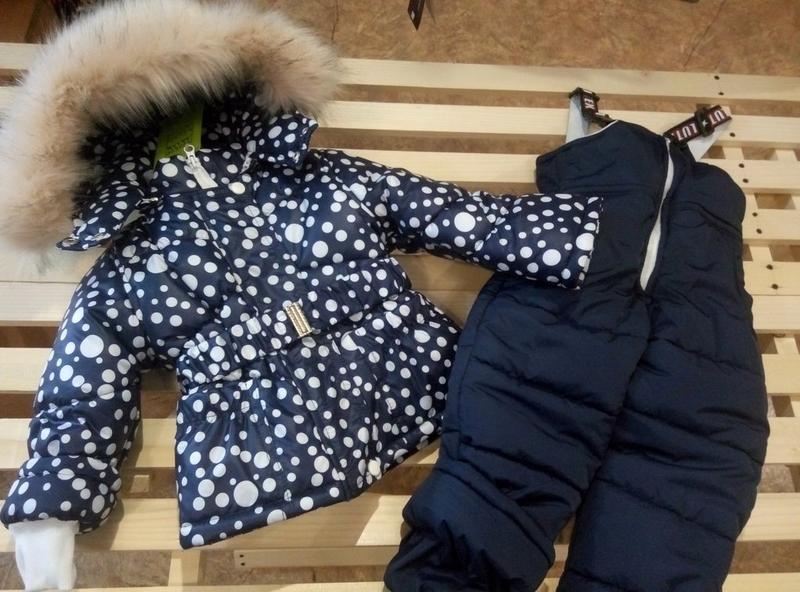 Зимний комбинезон для девочки в ярких и модных расцветках.