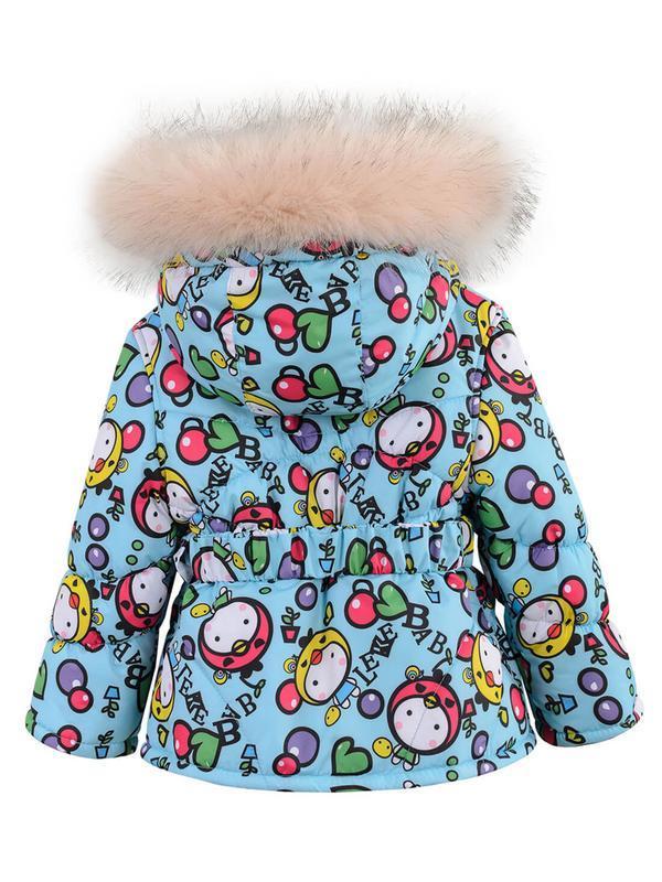 Зимний комбинезон для девочки в ярких и модных расцветках. - Фото 3