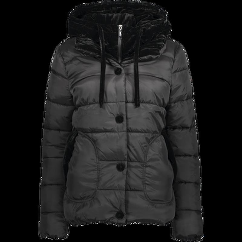 Женская новая теплая куртка с капюшоном