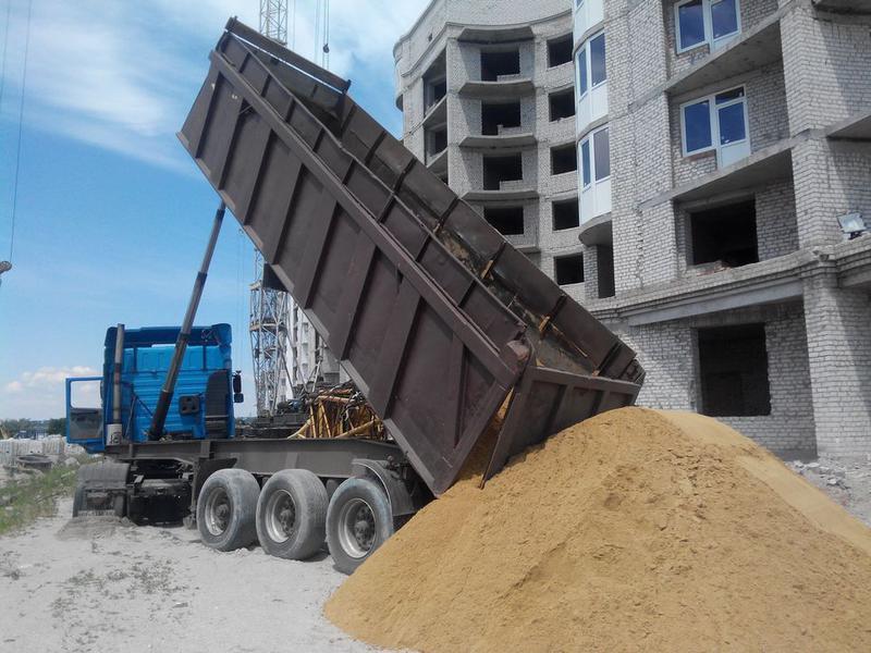 Песок с доставкой по Николаевской области с НДС
