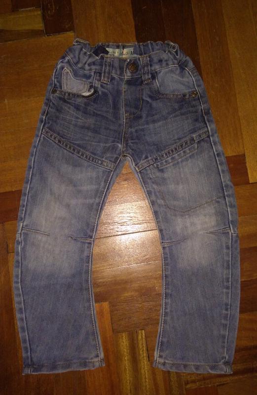 Крутые джинсы 3-4 года
