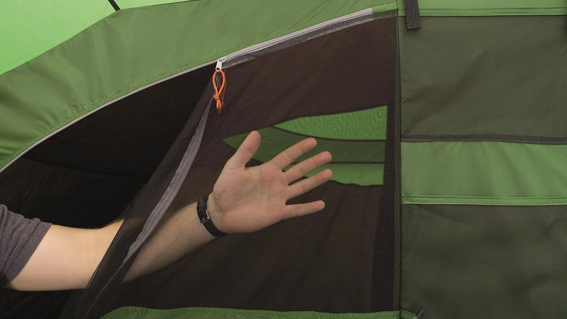 Палатка кемпинговая шестиместная Easy Camp Palmdale 600 Lux - Фото 8