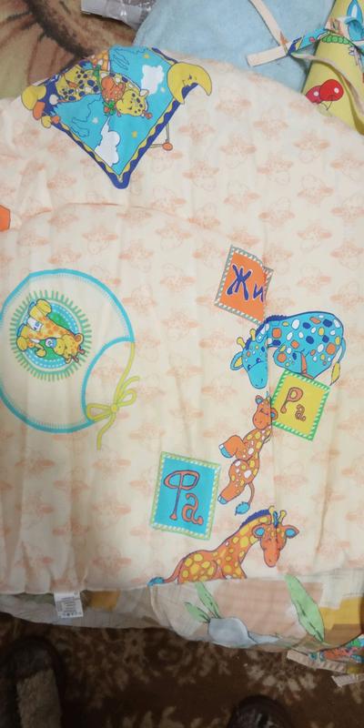 Защита- бортики в детскую кроватку.
