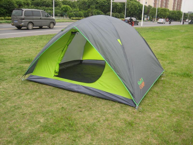 Палатка четырехместная GreenCamp 1018-4 - Фото 2