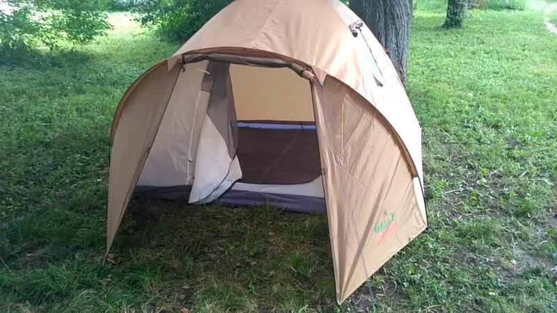 Палатка четырехместная GreenCamp 1004 - Фото 2