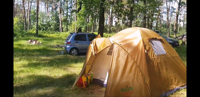 Палатка четырехместная GreenCamp 1004 - Фото 3