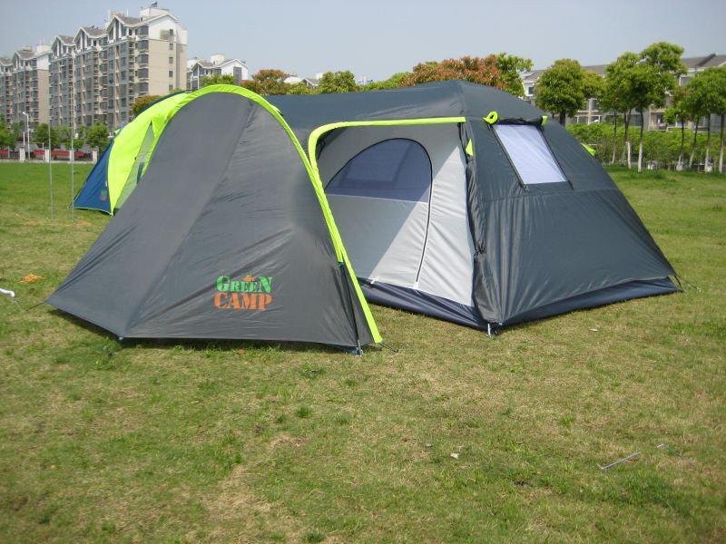 Палатка четырехместная GreenCamp 1009 - Фото 4